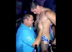 Wife with male stripper